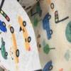 2020爆款儿童卡通一次性水刺印花纺粘无纺布口罩布多款图案