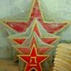 五角星八一徽制作-一米八规格军徽定制批发商
