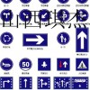 道路反光标识牌   生产代加工反光标识牌