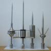 高强韧性玻璃钢避雷针气象站提前放电避雷针 单球优化避雷针