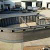 拱形骨架模具制造钢模可按图制造