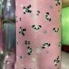 水刺可爱熊印花无纺布 可接受定制